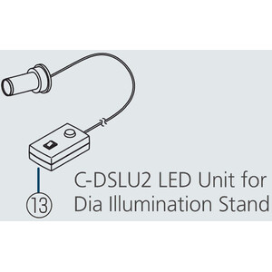 Nikon C-DSLU LED Unit for C-DS, Diascopic Stand