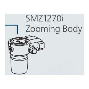 Nikon SMZ-1270i Stereo Zoom Head, trino, 6.3-80x, click stop, ratio 12.7:1, 64 mm, 0-30°, WD 70 mm