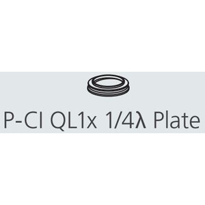 Nikon P-CI QL1X Lambda/4 plate