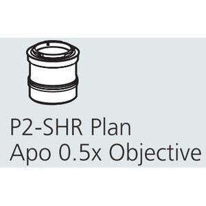 Nikon Obiettivo P2-SHR Plan Apo 0,5 x N.A. 0.075