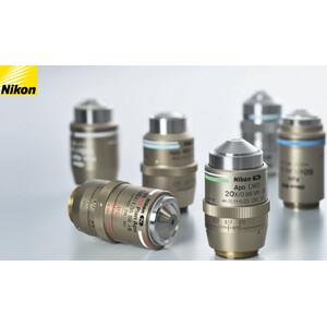 Nikon Obiettivo CFI E P-Achromat 10X/ 0.25/ 7,00