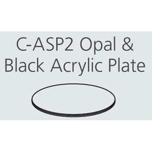 Nikon C-ASP2 black/white  Acrylic Plate 180 mm