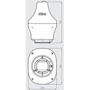 Nikon Camera DS-Qi2, Mono, 16.25MP, USB3.0, CMOS, F-mount