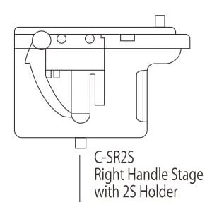 Nikon C-SR2S  Right Handle Stage with 2SHolder