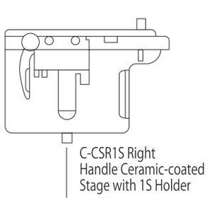 Nikon C-CSR1S Right Handle Ceramic Stage with 1S Holder