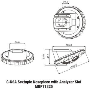 Nikon C-NA Nosepiece with Analyzer Slot