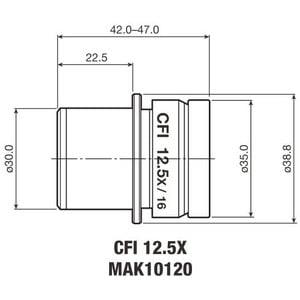 Nikon Oculare CFI Eyepiece 12.5X/16