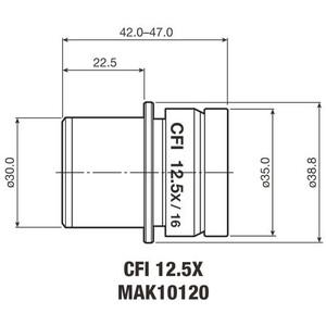 Oculaire Nikon CFI Eyepiece 12.5X/16