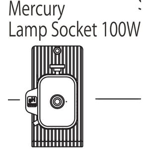Nikon HG 100W Mercury-Lamp base