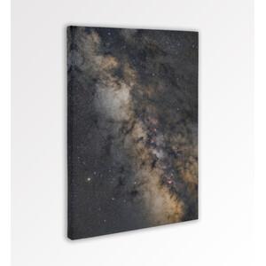 Oklop Leinwanddruck Milchstraße 50cmx75cm