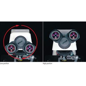 Nikon Microscope Mikroskop ECLIPSE E200, LED, bino, PH, infinity, e-plan, 40x-1000x