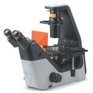 Nikon Microscopio Mikroskop ECLIPSE TS2, invers, trino, PH, FL, w/o objectives
