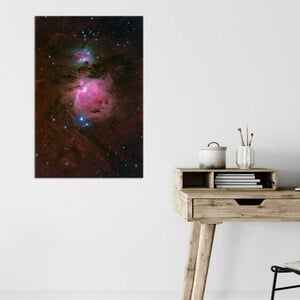 Oklop Poster Orionnebel M42 50cmx75cm