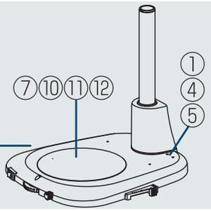 Nikon Microscopio stereo zoom SMZ745, bino, 0.67x-5x,45°, FN22, W.D.115mm, Durchlicht, LED