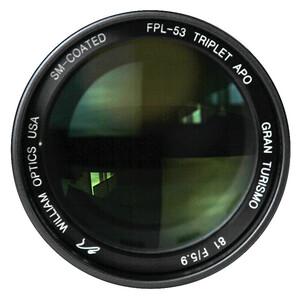 William Optics Refractor apocromático AP 81/478 Gran Turismo 81 IV OTA Guidescope-Set