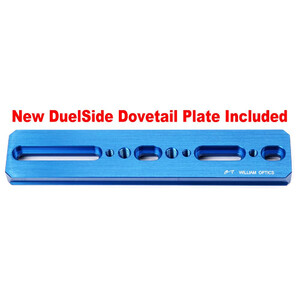 William Optics Apochromatischer Refraktor AP 81/478 Gran Turismo GT 81 Blue OTA