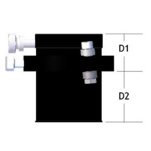 "KineOptics Focuser HC-1 Helical Crayford 1,25"""