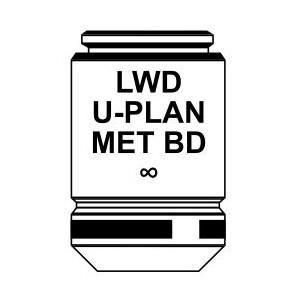 Optika Obiettivo IOS LWD U-PLAN MET BD objective 100x/0.8, M-1098