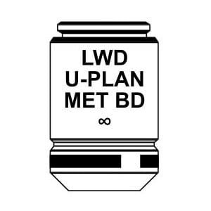 Optika Obiettivo IOS LWD U-PLAN MET BD objective 10x/0.30, M-1095