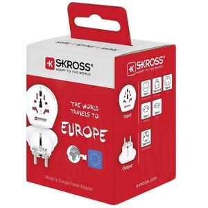 Alimentation électrique Skross Reiseadapter World to Europe