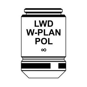 Optika Obiettivo IOS LWD W-PLAN POL objective 10x/0.25, M-1137