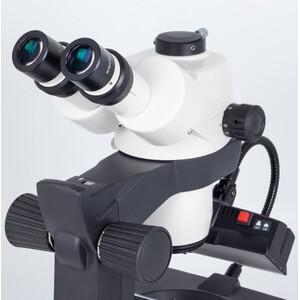 Motic Microscopio stereo zoom GM-168, trino, 7,5-50x, wd 113mm