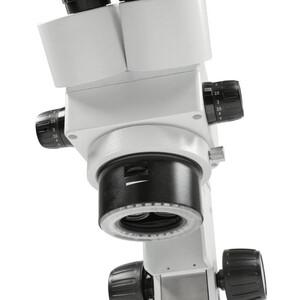 Kern Stereo-Zoom Mikroskop Binokular Greenough, 0,75-5,0x, HSWF10x23, 0,21W LED, OZL 456
