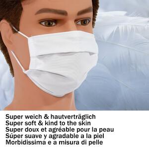Masketo Face mask polyester white for children