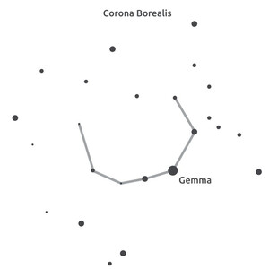 Masketo Mondmasker, polyester, Corona Borealis