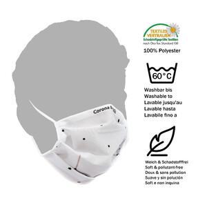 Masketo Máscara facial Corona Borealis em poliéster