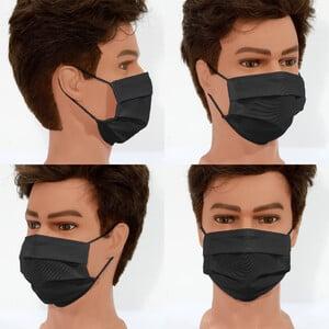 Masketo Face mask polyester black for children
