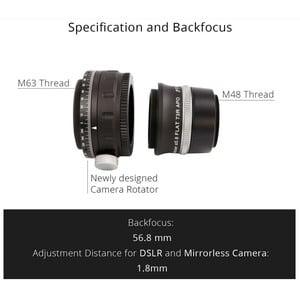 William Optics Adjustable Flattener Reducer Flat73R for ZenithStar 73