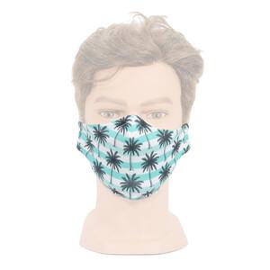 """Masketo mondmasker met motief """"Palmen"""", 1 stuk"""