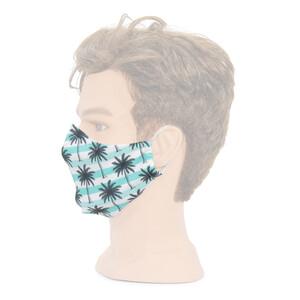 Masketo Mund- und Nasenmaske mit Motiv Palmen 1 Stück