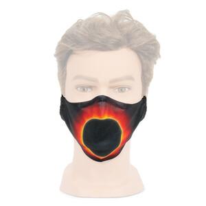 Masketo Masque facial avec motif astronomique Couronne solaire 1 pièce