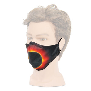 Masketo face mask with astronomy theme Solar Corona 1 piece