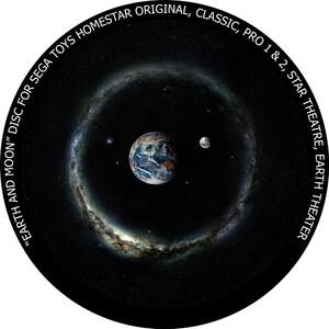 Redmark Dia für das Sega Homestar Planetarium Erde und Mond