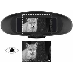 Bresser Visore notturno 3.5x digital night vision binoculars