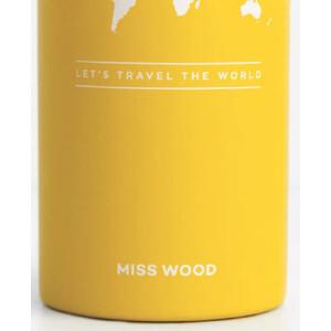 Miss Wood Bottle Yellow