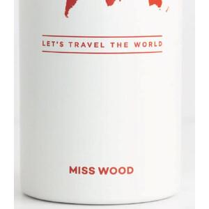 Miss Wood Bottle White