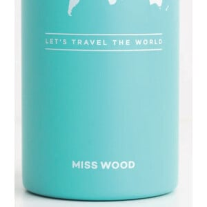 Miss Wood Bottle Electric Blue
