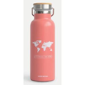 Miss Wood Bottle Pink