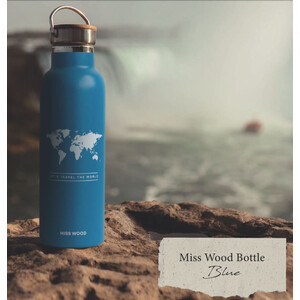 Miss Wood Bottle Light Blue