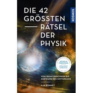 Kosmos Verlag Buch Die 42 größten Rätsel der Physik