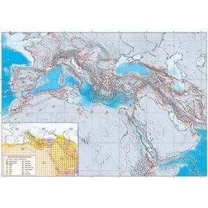 UKGE Mappa Regionale Geodynamic map of the Mediterranean