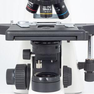 Motic Microscopio BA210E trino, infinity, EC- plan, achro, 40x-400x, Hal,