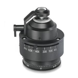 Kern Microscopio OPO 185, POL, trino, Inf plan, 40x-600x, Auf-/Duchlicht, HAL, 100W