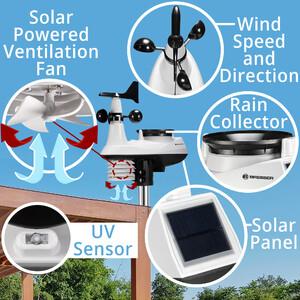 Explore Scientific Funk-Wetterstation Profi W-Lan Center 7in1