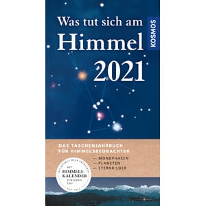 Kosmos Verlag Jahrbuch Was tut sich am Himmel 2021