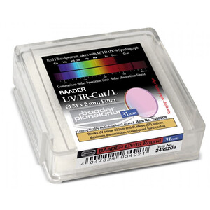 Baader Filtro blocca banda UV/IR Luminanz 31mm